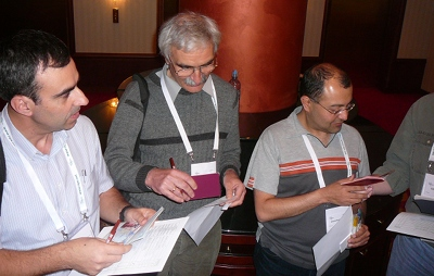 Key Signing Party during RIPE 60 in Prague